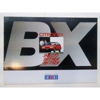 シトロエン BX 19GTI / 19TRS / 16TRS カタログ